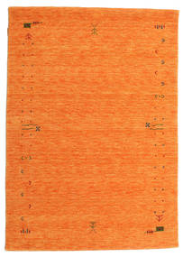 Gabbeh Loom Frame - Orange Tapis 140X200 Moderne Orange (Laine, Inde)