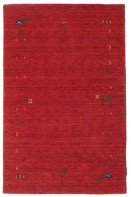 Gabbeh Loom Frame - Rust Red Rug 100X160 Modern Crimson Red (Wool, India)