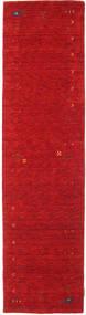 Gabbeh Loom Frame - Czerwony Dywan 80X300 Nowoczesny Chodnik Czerwony (Wełna, Indie)