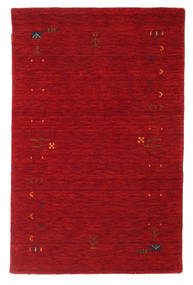Gabbeh Loom Frame - Red Rug 100X160 Modern Crimson Red/Dark Red (Wool, India)