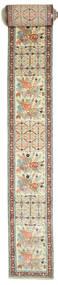 Meshkin Matto 90X1860 Itämainen Käsinsolmittu Käytävämatto Vaaleanruskea/Beige (Villa, Persia/Iran)