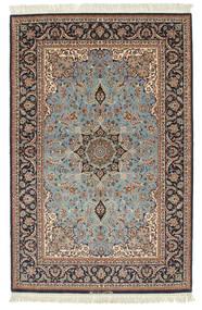 Isfahan silk warp signed: Davari carpet VEXN9