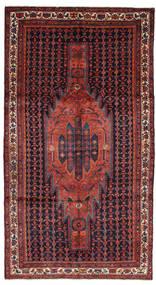 Kurdi Teppich  160X317 Echter Orientalischer Handgeknüpfter Dunkelgrau/Dunkelrot (Wolle, Persien/Iran)