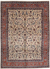 Sarouk Rug 295X414 Authentic  Oriental Handknotted Light Brown/Beige Large (Wool, Persia/Iran)