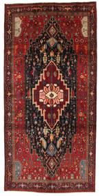Kurdi Matta 150X313 Äkta Orientalisk Handknuten Hallmatta Mörkröd/Brun (Ull, Persien/Iran)