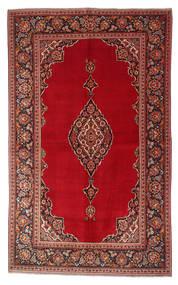 Keshan Alfombra 135X220 Oriental Hecha A Mano Rojo Oscuro/Roja (Lana, Persia/Irán)