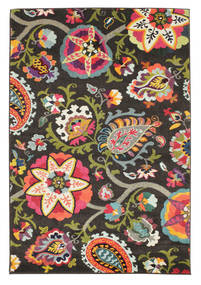 Allegra - Scuro Tappeto 160X230 Moderno Grigio Scuro ( Turchia)