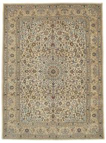 Kashmar Patina Matta 293X398 Äkta Orientalisk Handknuten Ljusbrun/Mörkbeige Stor (Ull, Persien/Iran)