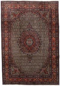 Moud Sag 210X303 Autentični  Orijentalni Ručno Uzlan Tamnocrvena/Tamnosmeđa (Vuna/Svila, Perzija/Iran)