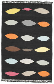 Tapis Leaves - Noir CVD8219