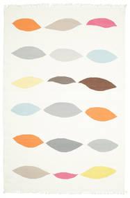 Leaves - White carpet CVD8211
