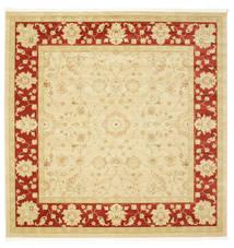 Farahan Ziegler - Beżowy/Czerwony Dywan 300X300 Orientalny Kwadratowy Duży ( Turcja)