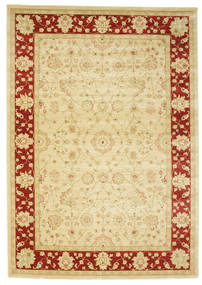 Farahan Ziegler - Beige/Red Rug 250X350 Oriental Yellow/Beige Large ( Turkey)