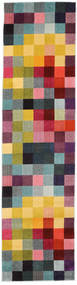 Torrent Rug 80X300 Modern Hallway Runner  Pink/Dark Grey ( Turkey)