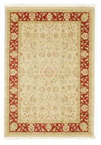 Farahan Ziegler - Beige/Red Rug 140X200 Oriental Yellow/Beige ( Turkey)