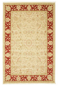 Farahan Ziegler - Beige/Red Rug 200X300 Oriental Yellow/Beige ( Turkey)