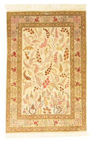 Qum silk signed: Motavasel carpet VEXX75
