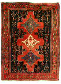 Senneh Rug 126X175 Authentic  Oriental Handknotted (Wool, Persia/Iran)