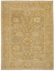 Oushak Rug 333X433 Authentic  Oriental Handknotted Light Brown Large (Wool, Turkey)