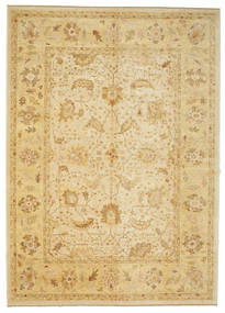 Oushak Rug 297X413 Authentic  Oriental Handknotted Light Brown/Yellow Large (Wool, Turkey)