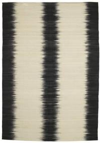 Kilim Ikat - Black carpet CVD8352