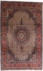 Moud Tæppe 197X325 Ægte Orientalsk Håndknyttet Mørkerød/Brun (Uld, Persien/Iran)