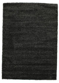 Shaggy Solana - Black / Grey carpet CVD9946