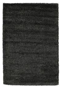 Shaggy Solana - Black / Grey carpet CVD9947