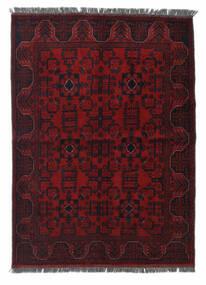 Afghan Khal Mohammadi Teppich 103X142 Echter Orientalischer Handgeknüpfter Dunkelrot (Wolle, Afghanistan)