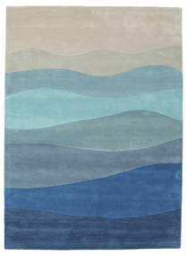 Feeling Handtufted - Blue Rug 160X230 Modern Light Blue/Light Grey/Blue (Wool, India)