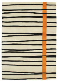 Gummi Twist Handtufted - Orange Rug 160X230 Modern Dark Beige/Beige/Black (Wool, India)