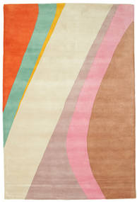 Dynamic Handtufted - Pink Rug 200X300 Modern Beige/Rust Red (Wool, India)