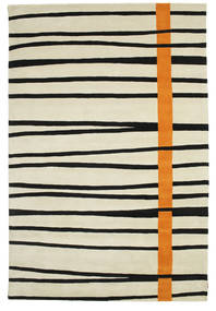 Gummi Twist Handtufted - Orange Rug 200X300 Modern Dark Beige/Black (Wool, India)