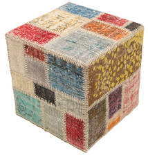 Tappeto Patchwork stool ottoman BHKW128