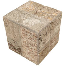 Patchwork stool ottoman teppe BHKW14