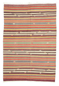 Kilim semi antique Turkey carpet XCGS279