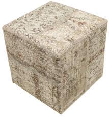 Patchwork stool ottoman χαλι BHKW149