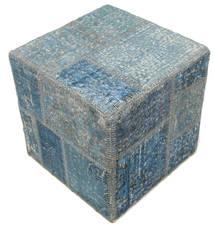 Patchwork stool ottoman carpet BHKW20