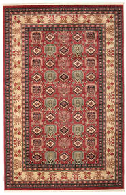 Kazak Simav Rug 200X300 Oriental Dark Red/Dark Brown ( Turkey)