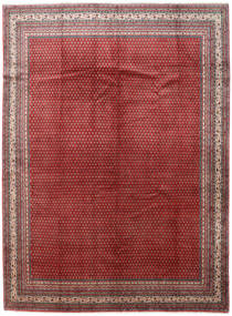 Sarouk Mir Rug 286X388 Authentic  Oriental Handknotted Dark Red/Brown Large (Wool, Persia/Iran)