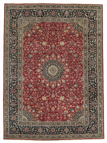 Mashad Patina Rug 246X340 Authentic  Oriental Handknotted Light Brown/Brown (Wool, Persia/Iran)