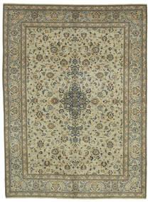 Keshan Patina Matta 310X422 Äkta Orientalisk Handknuten Mörkgrå/Ljusgrå Stor (Ull, Persien/Iran)