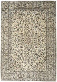 Kashan Patina Covor 240X345 Orientale Lucrat Manual Bej/Bej Închis (Lână, Persia/Iran)