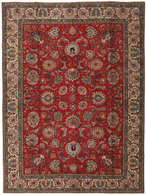 Tabriz Patina Rug 295X392 Authentic  Oriental Handknotted Dark Red/Light Brown Large (Wool, Persia/Iran)