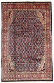 Mahal Tapijt 208X327 Echt Oosters Handgeknoopt Purper/Donkergrijs (Wol, Perzië/Iran)