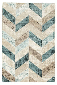 Ziggy - Blue Rug 140X200 Modern Dark Beige/Beige ( Turkey)