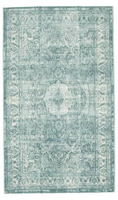 Jacinda - Light Rug 100X160 Modern Light Grey/Turquoise Blue ( Turkey)