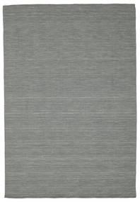 Kelim loom - Mørkegrå tæppe CVD9123