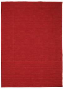Kilim loom - Dark Red rug CVD8703