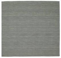 Kelim loom - dunkelgrau Teppich CVD9135
